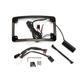 Black Plug and Play Run/Brake/Turn LED Radium License Plate Frame - TF05-HD-B