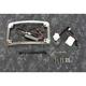 Chrome Plug and Play Run/Brake/Turn LED Radium License Plate Frame - TF05-HD-C