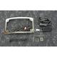 Chrome Plug and Play Run/Brake/Turn LED Radium License Plate Frame - TF05-BCM4-C