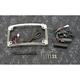 Chrome Plug and Play Run/Brake/Turn LED Radium License Plate Frame - TF05-SS6-C
