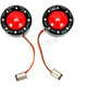 Black ProBEAM Bullet Ringz Turn Signals w\Red Lens - PB-BR-RR-57-BR