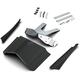 Black Rear Fender Extension Kit w/Fender Filler Strips - 68902