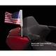 Chrome LED Lighted Flag Pole w/American Flag - 78600