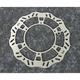 Steel Front Brake Rotor - 1711-1412
