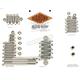Polished Stainless Steel Engine Bolt Kit - DE6524HP