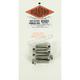 Polished Stainless 12-Point Front Disc Brake Caliper Bolt Kit - PB799S