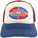 Red/White/Blue Speedshop Snapback Hat - HT82085