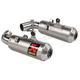 Titanium Slip-On Muffler - S-D9SO11-HCBT