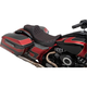 Black Extended Reach Predator III Double Diamond Seat w/Red  Thread  - 0801-1262