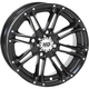 Solid Gloss Black Front HD3 Wheel - 14HD313