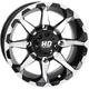 Machined Gloss Black Rear Wheel - 14HD600