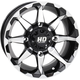Machined Gloss Black Front HD6 Wheel  - 14HD603