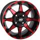 Red HD6 Rear Wheel  - 14HD603-RED