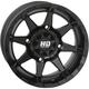 Matte Black Rear HD6 Wheel - 14HD627