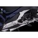 Black Adjustable Passenger Comfort Peg Mounts w/Rail Footpegs - 68220