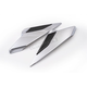 Chrome Twinart Side Covers - 78305