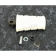 White Kick Starter Rubber Pedal - 17-0311