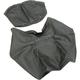 Black Carbon Gray Stitch Seat Cover - SB-BMW02