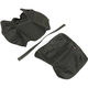 Black Carbon Gray Stitch Seat Cover - SB-BMW13