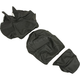 Black Carbon Gray Stitch Seat Cover - SB-D05
