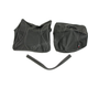 Black Carbon Gray Stitch Seat Cover - SB-K012