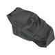 Black Carbon Gray Stitch Seat Cover - SB-K04