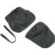 Black Carbon Gray Stitch Seat Cover - SB-S013