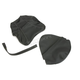Black Carbon Gray Stitch Seat Cover - SB-S03