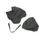 Black Carbon Gray Stitch Seat Cover - SB-Y01