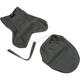 Black Carbon Gray Stitch Seat Cover - SB-Y011