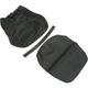 Black Carbon Gray Stitch Seat Cover - SB-Y015