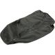 Black Carbon Gray Stitch Seat Cover - SB-Y041