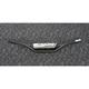 Black  7/8 in. Carbon Steel Handlebar - 0601-4973