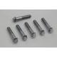 Chrome D-Ring Rocker Arm Cover Screws - 2013-6