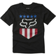 Youth Black Freedom Shield SS T-Shirt