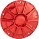 Red 10 Gauge Ness Tech Derby Cover - 700-006