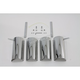 Chrome Upper Fork Covers - 68062-94A