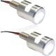 White LED License Plate Marker Bolt Light - 25-9181