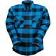 Blue/Black The Duke Flannel Shirt