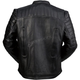 Black Leather Artillery Jacket