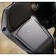 Black/Chrome Barrel Upper Fairing Glove Box Lock Door - GL-1