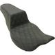 Black Lattice Stitched Step Up Seat - 808-07B-172E