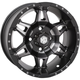 Matte Black Rear Mega HD7 Wheel - 14HD717