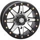 Solid Matte Black Front Comp Lock HD9 Wheel - 15HB903