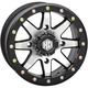 Matte Black  Front Comp Lock HD9 Wheel - 15HB908