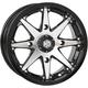 Machined Gloss Black Front HD10 Wheel - 14HD1007