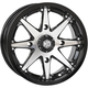 Machined Gloss Black Front/Rear HD10 Wheel - 20HD1003