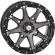 Machined Gloss Black Front/Rear HD10 Wheel - 20HD1017