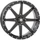 Machined Gloss Black Front/Rear HD10 Wheel - 20HD1023