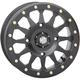 Matte Black Beadlock Wheel - 15HA123
